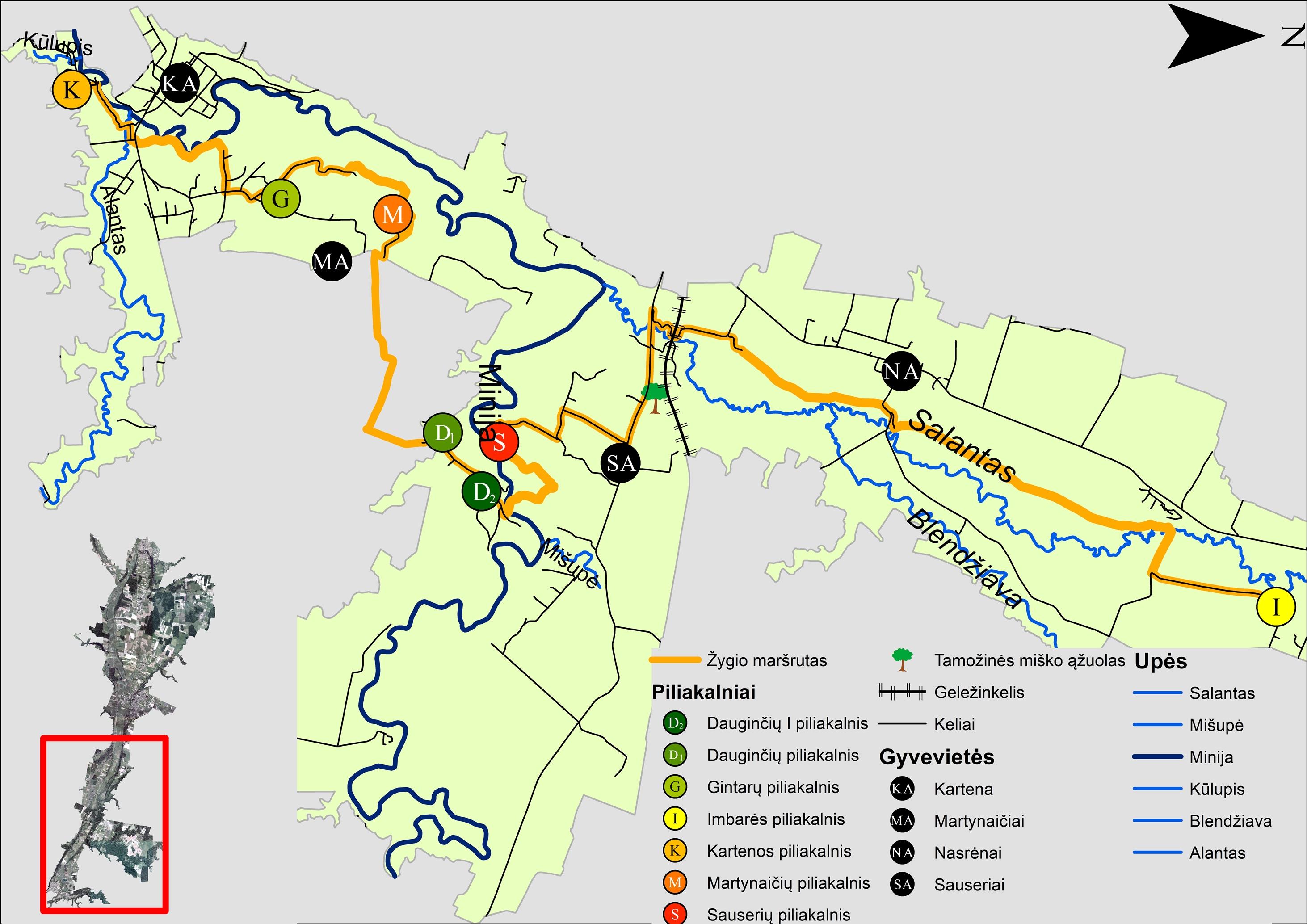 Kartenos Piliakalnis Svente.Salantų Regioninis Parkas Apie Parka